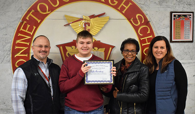 January Student of the Month photo