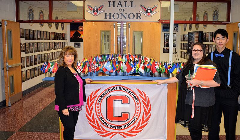 Connetquot High School Hosts Model United Nations Conference photo
