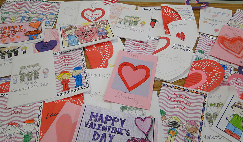 Valentines for Veterans photo